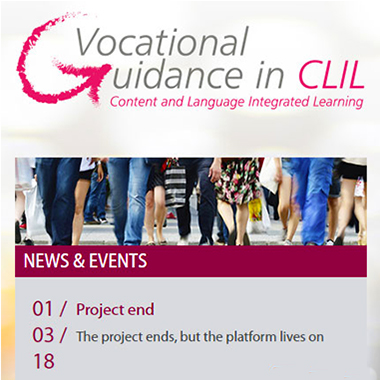 Vocational Guidance in CLIL